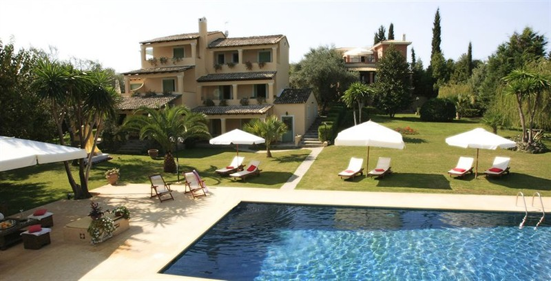 Appartement isabella country house gouvia corfu for Isabella house