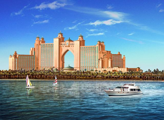 Hotel atlantis the palm the palm jumeirah dubai for Hotel dubai palm